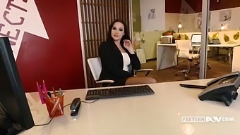 Hot Milf Chanel Preston Gets Laid In Her Office - Itspov