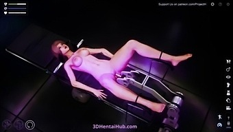 Uncensored 3d Hentai Girl Gets Penetrated By A Fucking Machine In Cyberpunk Fetish Laboratory!