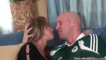 Busty Soccer Milf Kristina Cross Takes A Rough Pounding