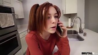 Brutalx - Redhead Madi Collins Gets Brute-Fuck Lesson