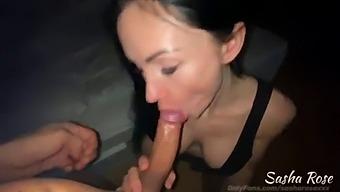 Beautiful Sasha Rose, Real Home Sex!!!