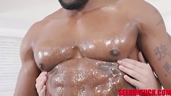 Ripped Jamie Knoxx Pampered By Catalina Ossa