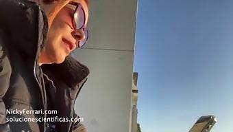 Nicky Ferrari Topless Maids Part 2