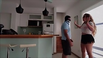 The Motherfucker Took Off My Clothes, I Couldn'T Resist And Let Him Fuck Me Before My Husband Arrived