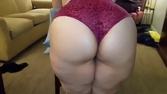 Purple Panties On Chubby Pawg