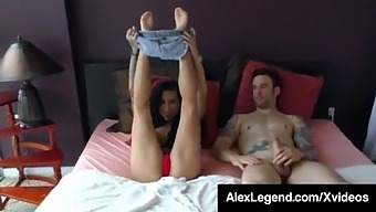 Inked Lily Lane Gets A Facial Recognition By Alex Legend!