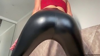 Zlata Stretches Her Tight Asshole And Loses Anal Virginity