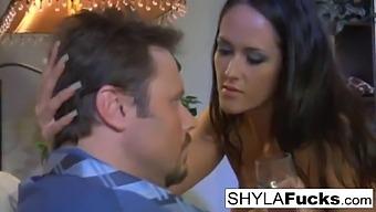 Sexy Shyla Stylez'S Hot Anal Threesome Fuck
