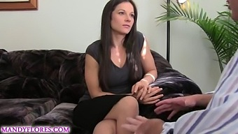 Mandy Flores Blackmailed By Husbands Business Partner Hd