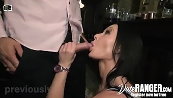 My Brunette Fake Tits Mom Julia Exclusiv (Pornstar) Gets Dick In My Favorite Bar From German Muscular Dick Bodo - Get A Date On Dateranger.Com! Now!