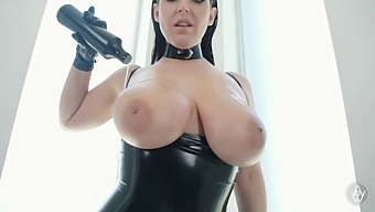 Angela White - Big Natural Tits Crazy Double Anal And Double Penetration