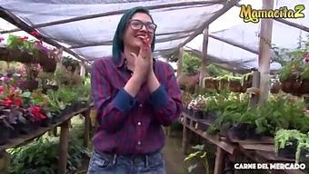 Mamacitaz - Clara Lucia & Alex Moreno - Naughty Latina Babe Gets A Big Cock This Afternoon