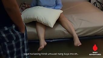 Pinay Sex Scandal - Nagpakantot Ang Asawa Ni Kuya Na Seaman Dahil Nahuli Nag Solo