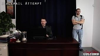 Hot Milf Vs Mafia Boss - Blackmail Attempt - Cory Chase