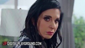 (Ricky Johnson) And Sexy (Joanna Angel) Go Crazy On The Couch - Digital Playground