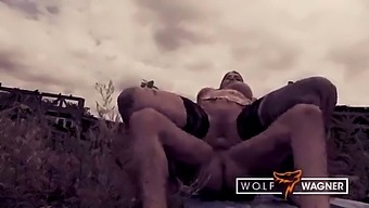 Mia Blow Gets Her Pussy Wet In Public! Wolfwagner.Com