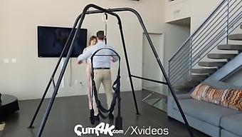 Cum4k Sex Swing Creampies With Flexible Tristan Summers