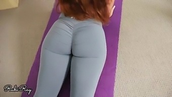 Please Cum In My Wet Panty And Yoga Pants