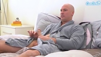 Camsoda - Mary Jean Busted Maid Has To Polish Big Dick
