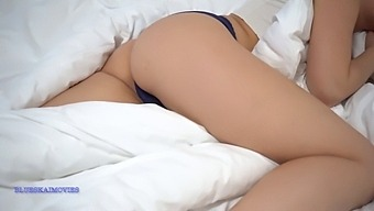 Pov Waking Up Blue Angel With A Big Cock