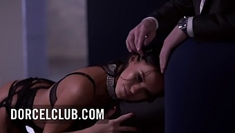 Megan Rain Threesome In Paris For Her 1st Luxure Scene - Full Length