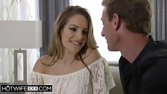 Hotwife Kimmy Granger Is Tied And Bound In Front Of Husband