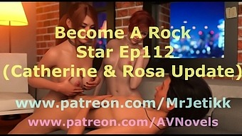 Become A Rock Star 112 Catherine & Rosa