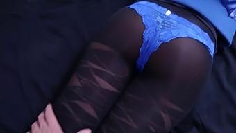 Cum Over Pantyhose - Compilation
