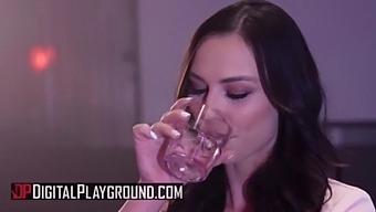 (Aidra Fox) Twerks Her Bubble Butt On Scott'S Big Cock - Digital Playground