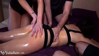 Julia Rain As Student In Squirt Lesson - Squirting Orgasm