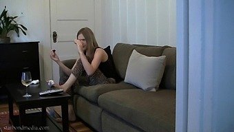 Voyeur - Girl At Home Pedicure & Solo With Toy Star Nine From 2010