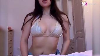 Hot Sexy Ally Breelsen Masturbates Pussy Vibrator To Orgasm