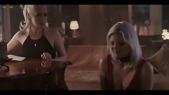 Beautiful Mistress  Christina Shine And Her Horny Slave Zazie Skymm Lesbian Experience