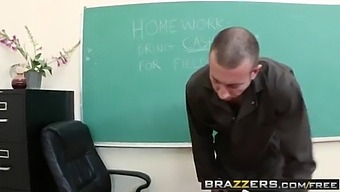 Brazzers - Big Tits At School - Richelle Ryan And Jordan Ash - Fucking The Janitor