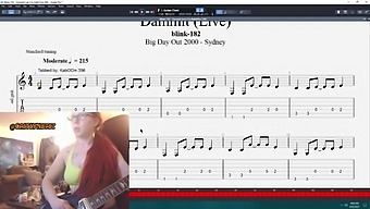 Guitar Practice Session 8 - Damnit (Blink 182) (Electric)