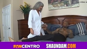 Shaundam Big Black Cock Stretches Out His Tiny Little Doctor Leilani Lei