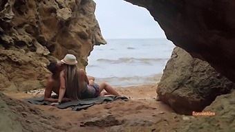 Passionate Sex On A Paradise Beach - Side Sex And Doggystyle