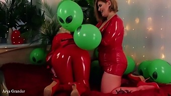 Airballoons Fetish Latex Rubber Video Free Porn