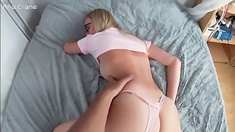 Passionate Anal Sex And Closeup Creampie