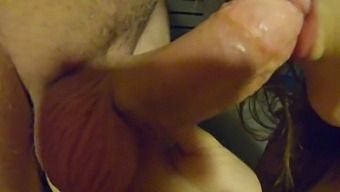 Amazing Student Blowjob With Massive Cum In Mouth