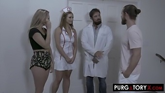Purgatoryx Fertility Clinic Vol 1 Part 2 With Skylar Snow And Adira Allure
