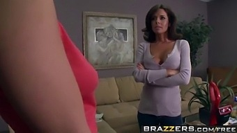 Brazzers - Mommy Got Boobs - Pussy That Sucks Cock Scene Starring Veronica Avluv And Johnny Sins