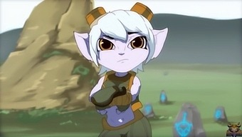 A Great Gangbang With Tristana For Money (Sound)