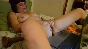 Masturbating With A Young Stud!