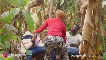 Female Police Officer Gang Banged In The Forest For Trying To Arrest Smoking Hoodlums
